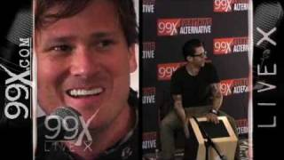 "99X Live X - Angels and Airwaves - ""Everything's Magic"""