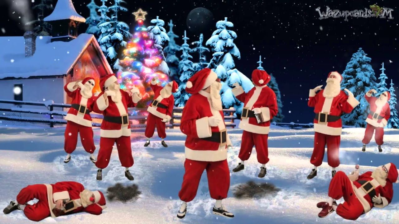 Christmas Dancing Santa.Dancing Santa Claus Merry Christmas 2019