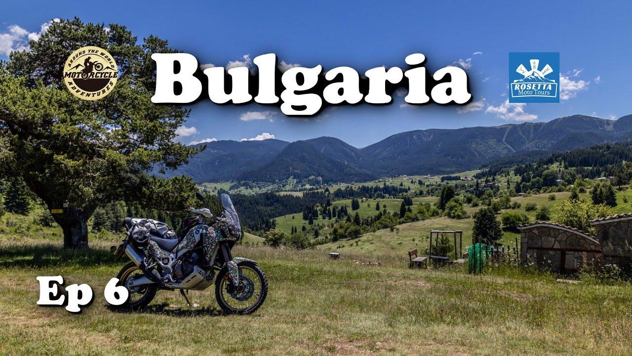 Ep 6 - Motorcycle Trip around Bulgaria / Gela, Chepelare & Bulgarian Folklore Music
