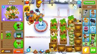 Bloons TD 6 - Winter Park - Impoppable - No Monkey Knowledge, Continues and Powers (14.0 patch)