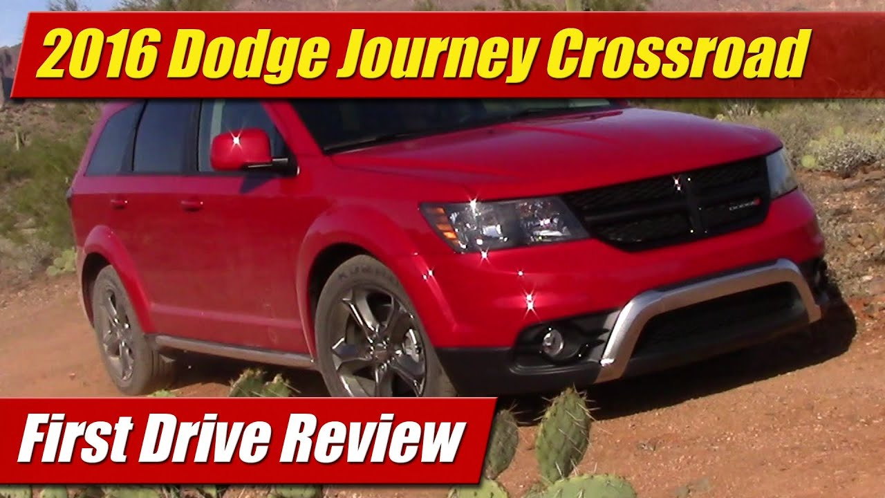 2016 Dodge Journey Crossroad First Drive Review