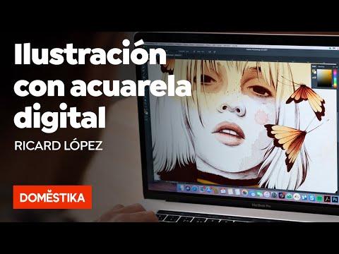 Técnicas De Ilustración Con Acuarela Digital - Curso Online De Ricardilus