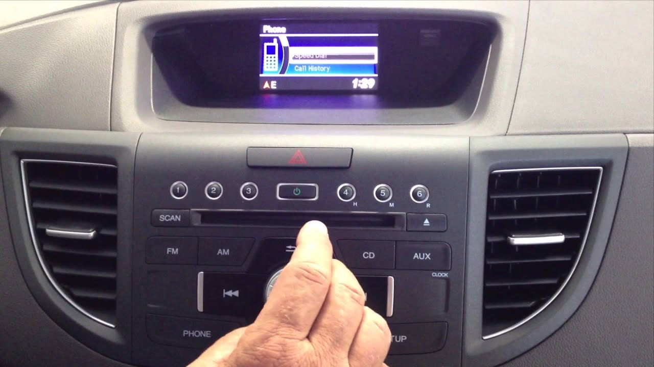 Honda CR-V How To Delete Bluetooth Phone - YouTube