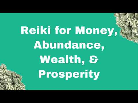 Reiki for Money, Abundance, Wealth, & Prosperity | Energy Healing | Crystal Grid | Crystal Reiki