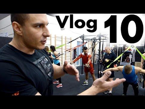 Z Tobołami po Krakowie - Vlog 10 | Cross Fit 72D | Kurs TRX |  Anatomia Nettera | Grill