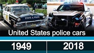 Evolution of police cars USA | 1949 - 2018 | Эволюция полицейские автомобили США