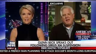 Megyn Kelly Asks Glenn Beck About Brad Thor Donald Trump Assassination Controversy 6/6/16