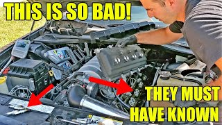 Looking Inside A Charger SRT8 Engine After Buying It Sight Unseen From Auction. How Did This Happen?