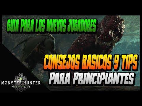 CONSEJOS BASICOS DE MONSTER HUNTER - GUIA PARA PRINCIPIANTES