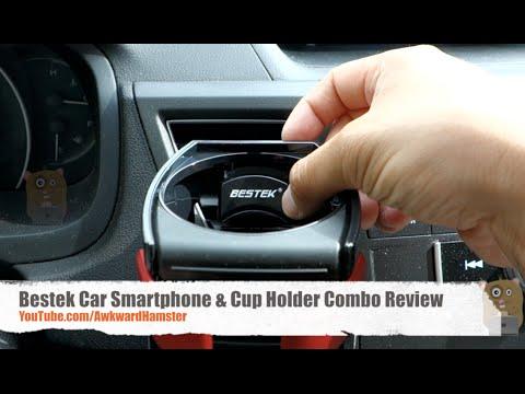 Bestek Car Smartphone & Cup Holder Combo Review