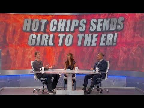 Spicy Chips Send Girl to the ER?
