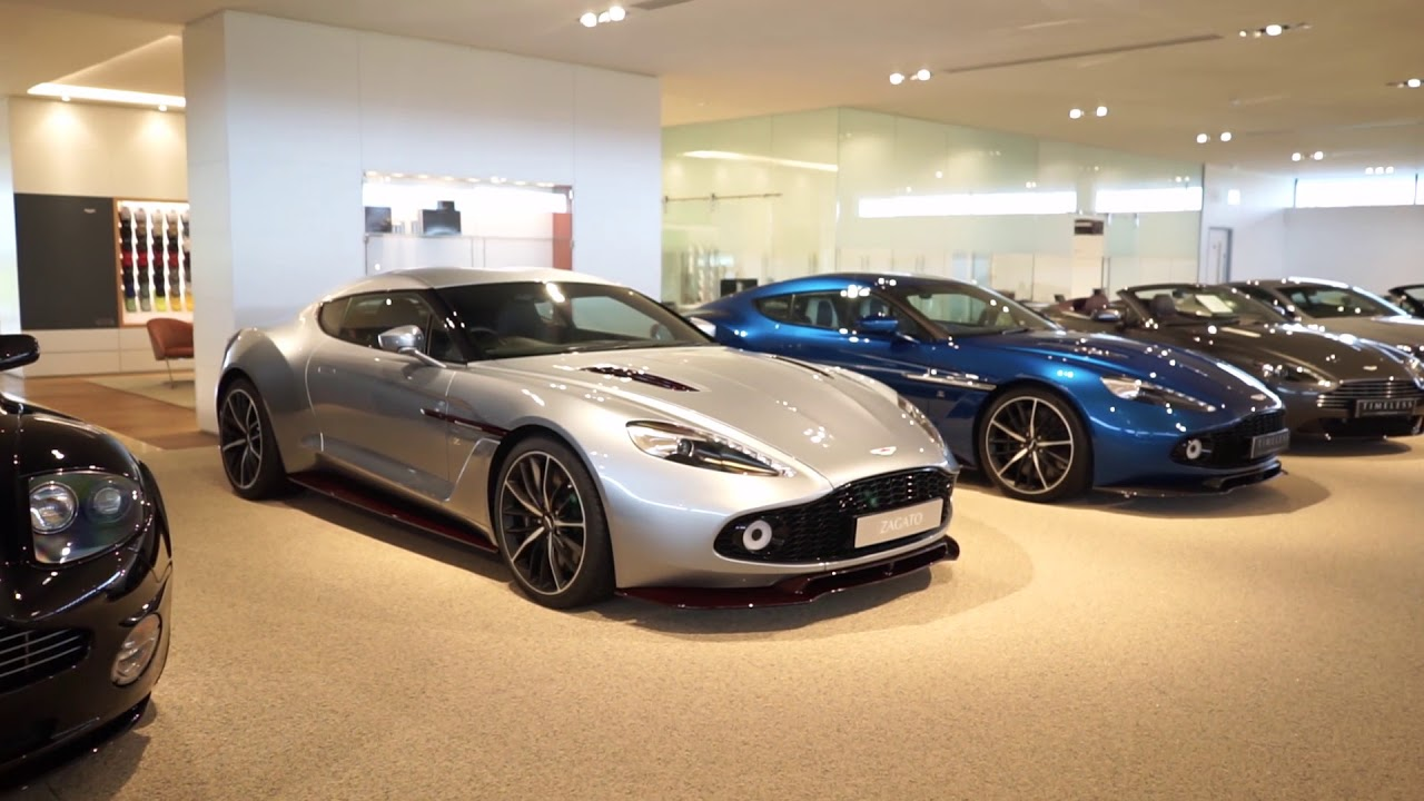 2018 At Aston Martin Bristol Showroom Walkthrough Youtube