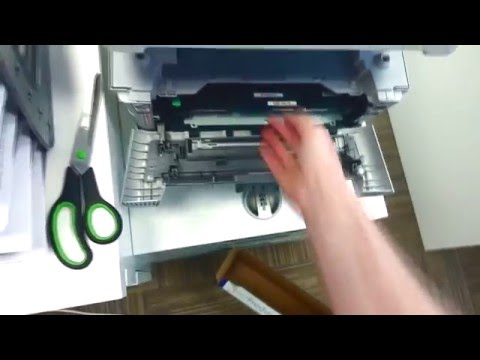 Замена картриджа МФУ Brother DCP 7057WR / How To Change Cartidges From Brother Dcp-7057wr