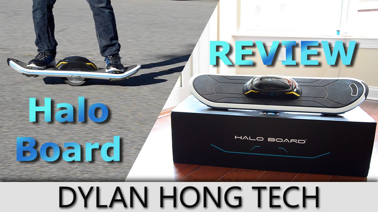 Halo Board Electric Skateboard Review 2016: What \u0026quot;Hoverboards\u0026quot; Should Have Been  YouTube