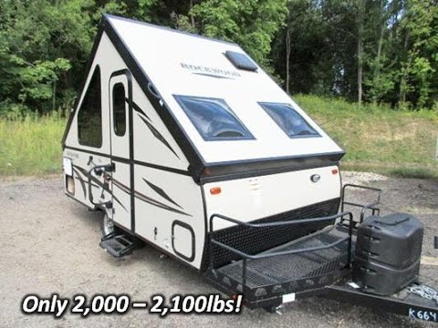 haylettrvcom 2016 rockwood a122bh a frame popup folding camper by forest river rv youtube