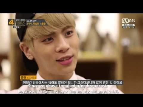 [Eng Sub] 140922 Minho, Jonghyun, Kai, Ravi, Greg talking about Taemin's Personality
