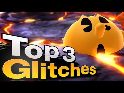 Smash 4 Wii U - Top 3 Pac-Man Glitches