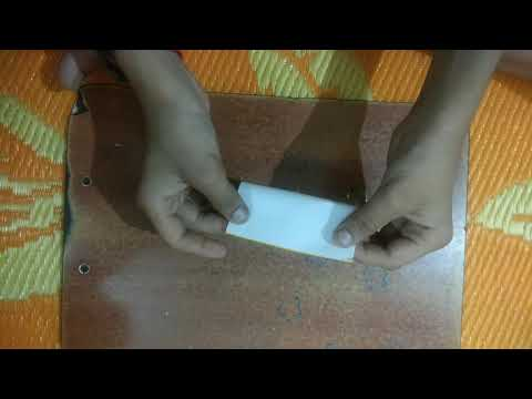 How to make a envelope with small paper