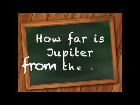 How Far Is Jupiter From The Sun