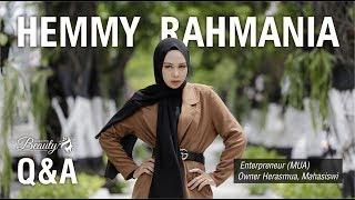 HEMMY RAHMANIA Q A Seputar Profesinya Sebagai Make Up Artist