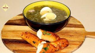 Вкусный зелёный борщ с щавелем. Мамин рецепт. Щавелевый суп с яйцом в мультиварке. Моя Dolce vita