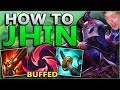 LEARN TO BE YOUR BEST JHIN!! HOW TO LANE + CARRY SOLO QUEUE AS ADC! - League of Legends