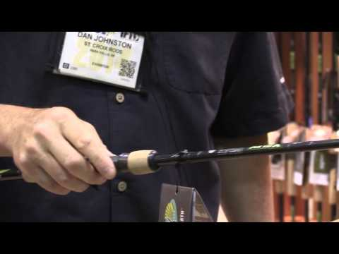 St.Croix Rods Avid X Rods At ICAST 2014