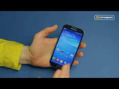 Видео обзор Samsung Galaxy S4 i9500 от Сотмаркета