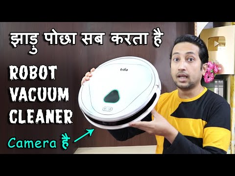 BEST ROBOT VACUUM CLEANER IN INDIA 2021 | Trifo max pet Unboxing & Review in Hindi