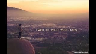 Lee Ryan - Wish The Whole World Knew
