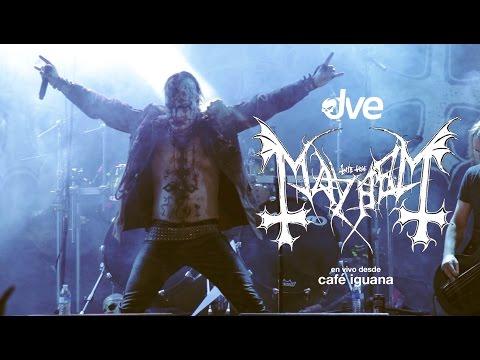 Mayhem Live - Monterrey - Café Iguana
