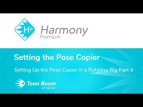How to Set Up the Pose Copier in a Rotating Rig with Harmony Premium Part 4 thumbnail