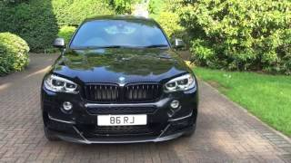 BMW X6 M50D 2016 with M Performance Body Kit Review