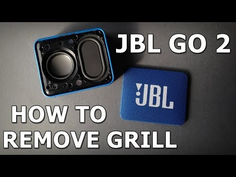 JBL GO 2 - How To Remove the Grill Without damaging the speaker
