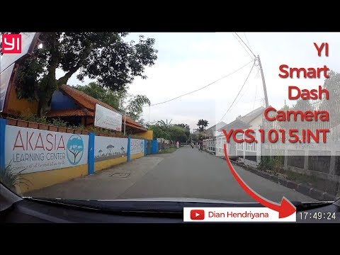 Indonesia Review : Quality Of YI Smart Dash Camera YCS.1015.INT In The Afternoon