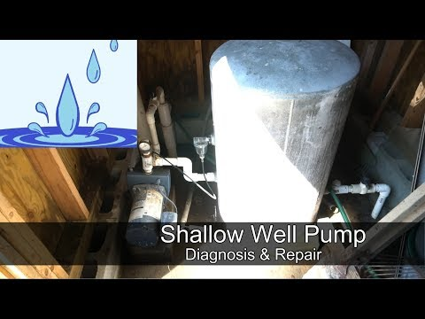 Shallow Well Pump - diagnosis and repair
