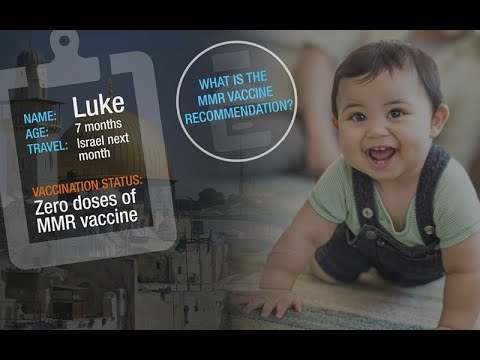 Travel & Measles Vaccination: 7-month-old Traveling To Israel