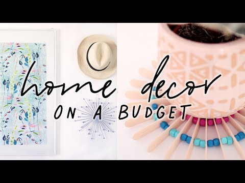 How To Decorate on a Budget | Home Decor Shopping, Decorating and DIY Decor Ideas