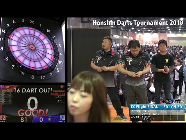 Hanshin Darts Tournament 2019 CC Flight FINAL - YouTube