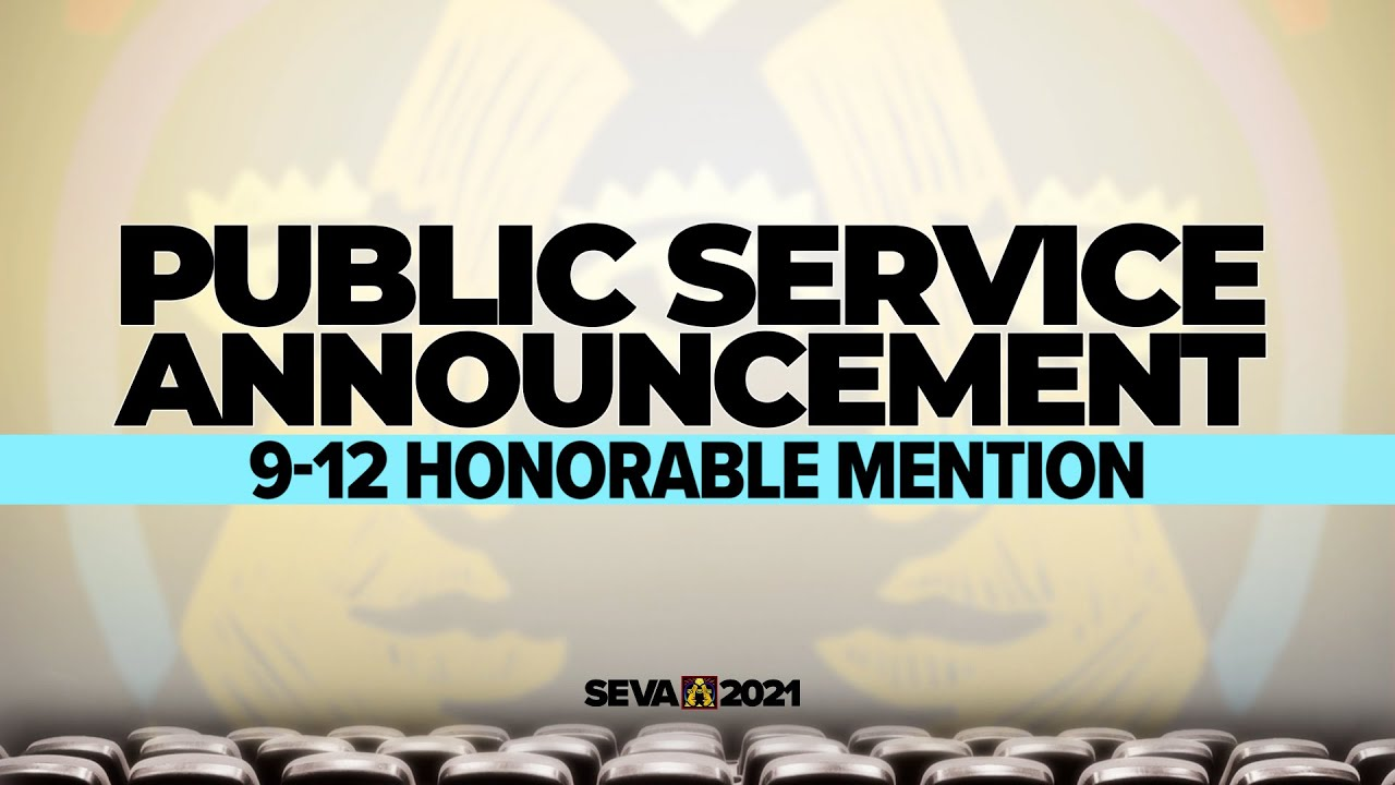 SEVA 2021: PSA 9-12 Honorable Mention – No Wipes in the Pipes