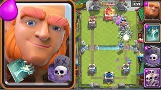 皇室戰爭clash royale 360度全景 巨人 骷髅家族