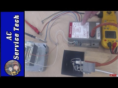 Gas Furnace Spark Ignition Control Troubleshooting!