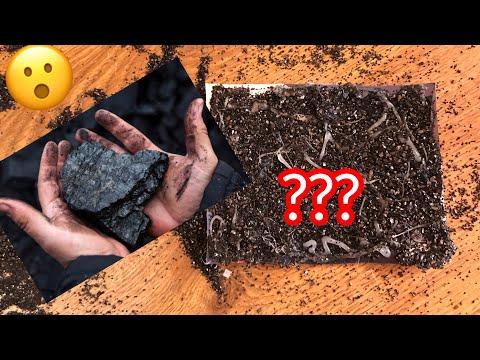 Как сделать наждачную бумагу из угля ?