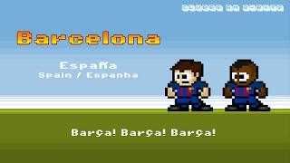 hino do barcelona em 8 bits el cant del bara 8 bits barcelona anthem 8 bit version