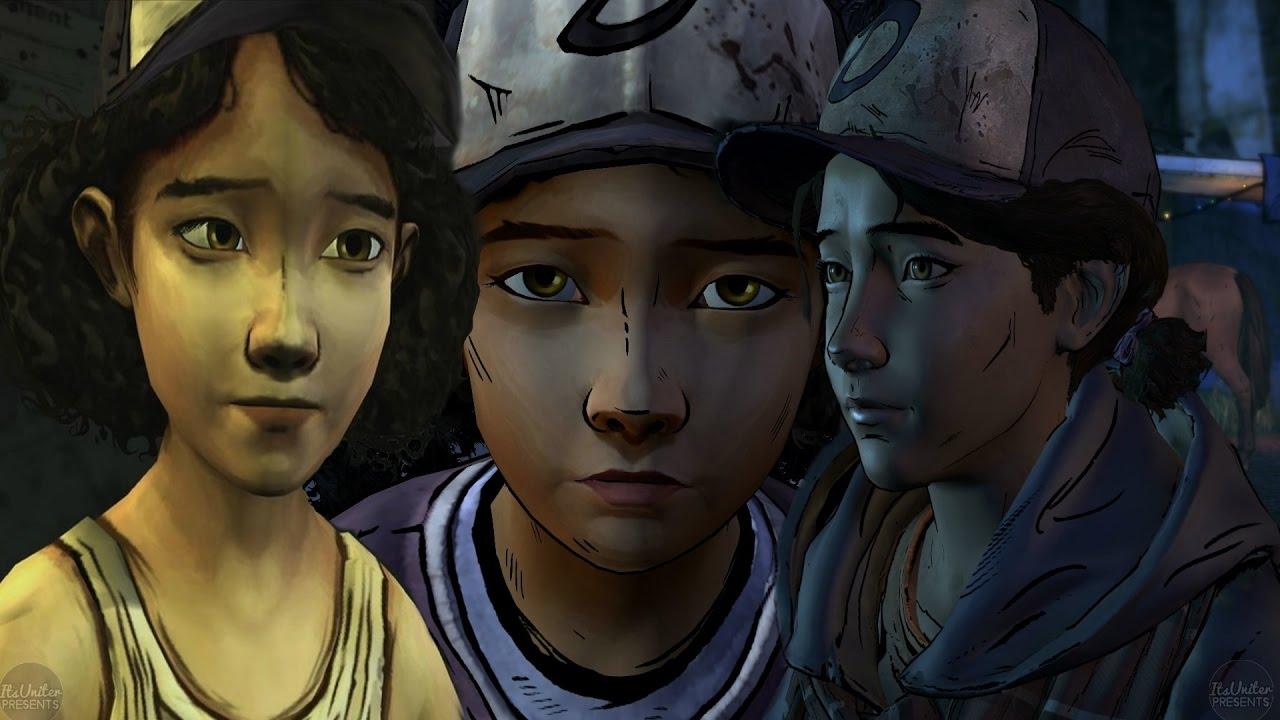 All Walking Dead Clementine Introductions Season 1 Season 2 Season 3
