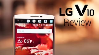 LG V10 Review - Form AND Function!