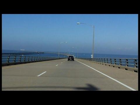 Chesapeake Bay Bridge-Tunnel southbound