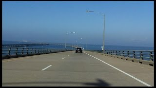 Chesapeake Bay Bridge-tunnel Southbound