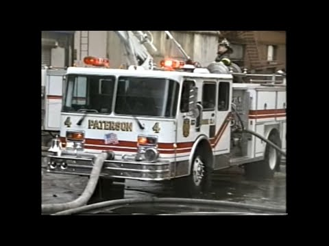 Paterson -  Meyer Brothers Department Store Fire