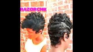 Beautiful Wave Technique by Razor Chic of Atlanta